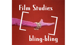 Logo Podcast Film Studies bling-bling